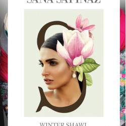 SANA SAFINAZ Winter Shawl Collection 2016