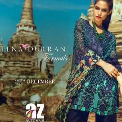 Tena Durrani by AL-ZOHAIB Formals Collection 2016