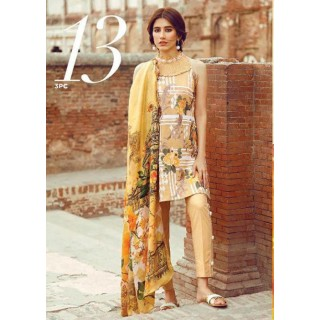 Cross Stitch Eid Lawn Collection 2017 - Sumptuous Taffy