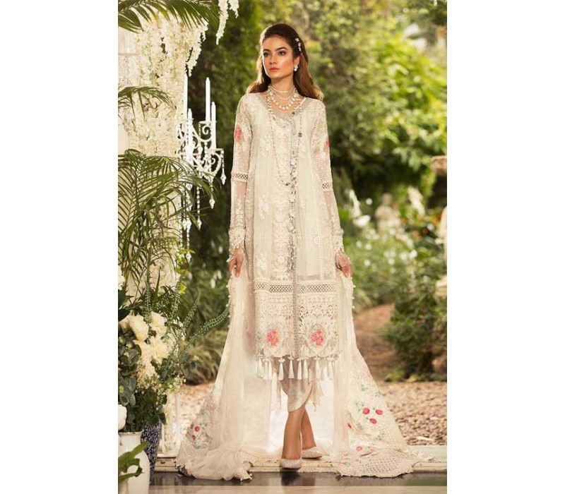 3a2a86229f MARIA B Mbroidered Unstitched Collection - 2019 - BD-1604