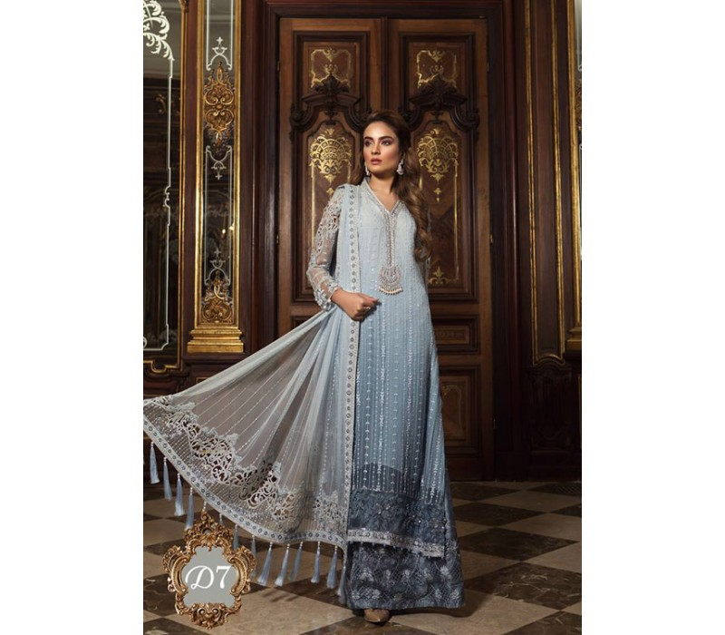 c1503d5d82 MARIA B Mbroidered Wedding Edition Vol-1-2018 - Design-7