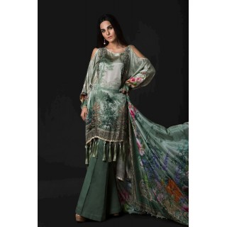 MARIA B Silk Collection 2017 -MSK-05-Sea Green