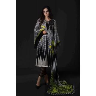 MARIA B Silk Collection 2017 - MSK-06-Black & White