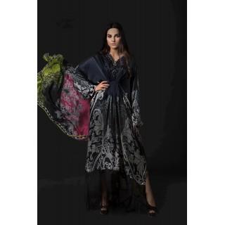 MARIA B Silk Collection 2017 -MSK-08-Black
