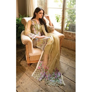 SOBIA NAZIR Lawn Collection 2018 - Design 15-B