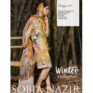 SOBIA NAZIR Winter Collection 2017 - Design 02
