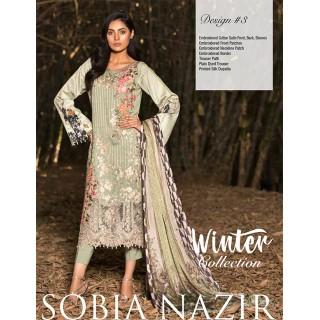 SOBIA NAZIR Winter Collection 2017 - Design 03
