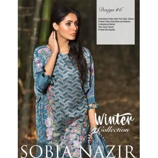 SOBIA NAZIR Winter Collection 2017 - Design 06