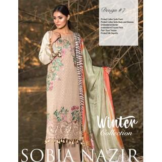 SOBIA NAZIR Winter Collection 2017 - Design 07