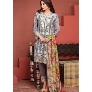 KHAADI Winter Collection Vol 2 2016 - F16604-GREY